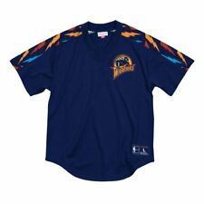Golden State Warriors Mitchell & Ness Winning Team Mesh V-Neck Medium
