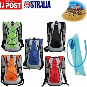 5L Bike Bicycle Hydration Pack Backpack Bag+ 2L Water Bag Camelbak Cycle Camping