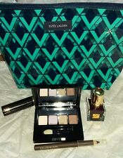 Estee Lauder Bag, Eyeshadow, Liner, Mascara,Nail Lacquer Set Ltd Ed BN