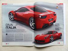 Ferrari 458 Italia V8 570PS - Vorstellung - Auto Motor & Sport Heft 17/2009