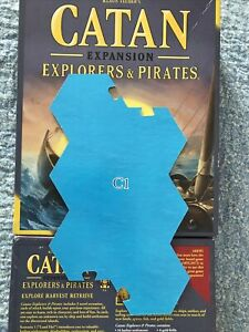 Catan Explorers and Pirates Replacement Pieces - C1 CATAN GAME BOARD PIECE