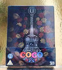 STEELBOOK Blu- Ray Coco [ Zavvi Limited  ] Titre Tranche (Pas Version Belge)