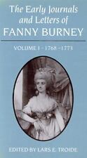 The Early Journals and Letters of Fanny Burney, Vol. 1: 1768-1773, , Troide, Lar