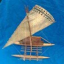 Fijian Island Sailing Outrigger Model