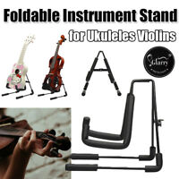 FOLDING GUITAR STAND FOLDABLE MUSIC FLOOR ELECTRIC ACOUSTIC BASS