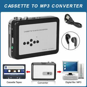 Lecteur de Cassette USB convertisseur de Bande en MP3 Lecteur de Musique