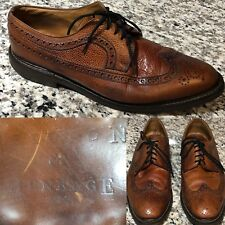Shipton & Heneage Oakley Longwing Brogue Oxford Mens Shoes Sz 9.5F UK/10F US