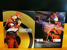 Steelbook F1 2020 Ps4 Xbox One Formula 1 Custodia metallo Limited - No Gioco