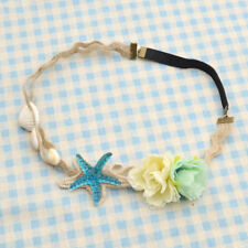 Starfish Nature Shell Headband Hair Crown Lace Cute Girl Jewelry DIY Gift 1 Pc