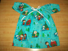 """CHRISTMAS PEANUTS SNOOPY CHARLIE BROWN NIGHTGOWN  for 16"""" Cabbage Patch Kids"""