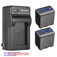 Kastar Battery AC Wall Charger for Sony NP-QM91D & Cyber-shot DSC-F828 DSC-R1