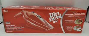 Dirt Devil BD10050RED Scorpion Handheld Vacuum Cleaner, Cordless Hand Held Vac