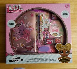 LOL Surprise Smash Writing Journal Kit RARE  Holiday Exclusive. New ages 6+