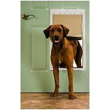 Xlarge Dog Door Flap Pet Gate Cat Doggie Safe Wall Entry Patio Enclosure PetSafe
