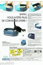 PUBLICITE ADVERTISING 126  1992  Pattounes  litière chat