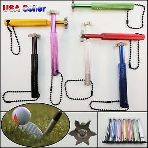 Golf Club Groove sharpener Regrooving Cleaning Tool