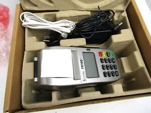 First Data POS Credit Card Machine, FD100 Terminal, New in Open Box