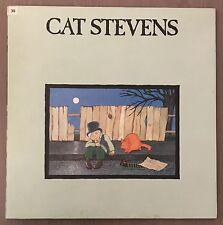 CAT STEVENS Teaser And The Firecat UK Vinyl LP EXCELLENT CONDITION Pink Rim