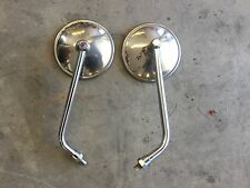 Original 1975 Suzuki RE5 Wankel Rotary Tanaka Mirrors 1976 1974 1973