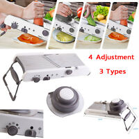 Professional Mandoline with Built-In Blades Cuts Food Fruits & Vegetables