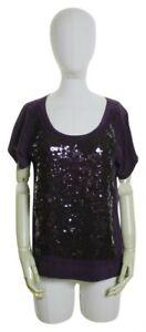 J.Crew $128 Silk Sequin Scoopneck Blouse Top Size Medium