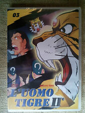 L'uomo tigre II n.3 - cartone animato - DVD Nuovo Sigillato