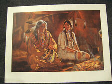 The Gift By Michael Gentry, RARE, signed & number, AP, native American ,us