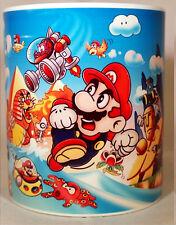 SUPER MARIO LAND - Coffee Mug -  YOSHI - LUIGI - TOAD - PEACH - Game Boy - retro