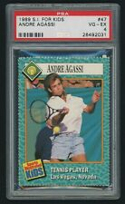 1989 Sports Illustrated for Kids SIFK Andre Agassi Rookie PSA 4  🎾 NetPro Bonus