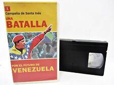 Una Batalla Por El Futuro De VENEZUELA - HUGO CHAVEZ  non-English VHS tape