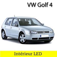 Kit éclairage intérieur blanc avec ampoules à LED pour Volkswagen Golf 4