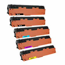 5-Pack Toner Set for HP Color LaserJet Pro M277dw M277n M252dw M252n CF400X 201X