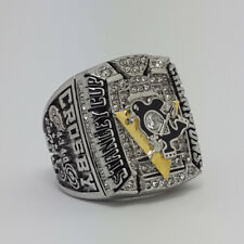 Year 2009 Pittsburgh Penguins Stanley Cup Championship Copper Ring 8-14Size