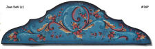 Door Crown Rosemaling Pattern Pack-FREE SHIPPING-Make A Special Door-Stock #36P