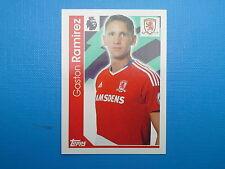 Topps Merlin's Premier League 2017 Sticker n.212 Gaston Ramirez Middlesbrough