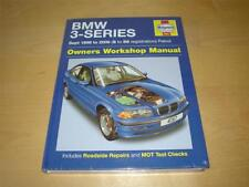 Haynes BMW 3 SERIES SALOON COUPE TOURING Owners Handbook Service Repair Manual