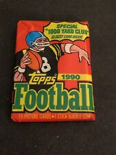 1990 Topps Football Wax Pack Fresh from Box! Combined Shipping On Multiple!!