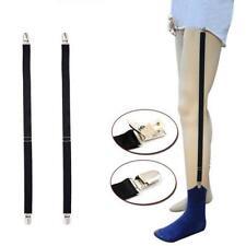 Mens Shirt Stays Holder Garters Suspenders Military Uniform Holder Sock N3