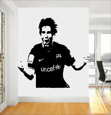Star Du Football MESSI Barcelone citation wall stickers art chambre amovible Stickers DIY