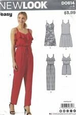 New Look Misses Jumper Sleeveless Romper Dress with Length Variations D0614 6-18