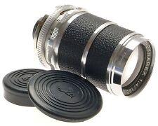 VOIGTLANDER SUPER-DYNAREX 1:4/135mm VINTAGE CAMERA LENS f=135mm CAPS COMPUR NICE