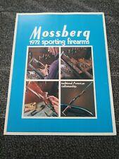 1972 Mossberg Sporting Firearms Gun Catalog Hunting Equipment