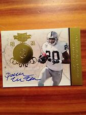 2011 Panini Plates And Patches DARREN McFADDEN Autograph Card 5/5