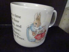 Beatrix Potter Wedgwood PETER RABBIT PORCELAIN CUP