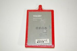 IKEA Tolsby Photo Picture Frame 4x6 RED by Henrik Preutz