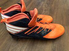 NEW Adidas Freak X Kevlar Mid Mens Football Cleats Broncos Orange Blue Sz 15