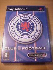 PS2 - RANGERS CLUB FOOTBALL - Complete with Manual - Video Game - Playstation 2
