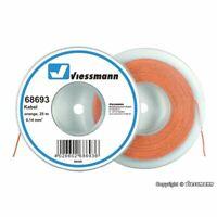 VIESSMANN 68693 FIL ELECTRIQUE ORANGE 0,14 mm2 ROULEAU DE 25m