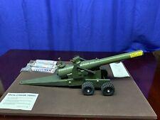 Vintage Toy Conestoga Big Bang No.10 Cannon Cast Iron Safety Celebrator 105mm