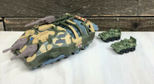 Kenner Parker Toys Mega Force 1989  Army Armored Transport Vehicle Tank 2 Micro